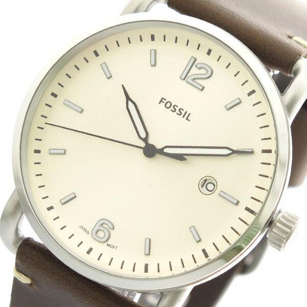 フォッシル FOSSIL 腕時計 FS5275 クォーツ アイボリー ブラウンユニセックス