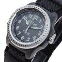 【ポイント2倍】(〜3/31)【キャッシュレス5%】カクタス CACTUS 腕時計 CAC-45-M01 キッズ腕時計 ボーイズデザイン クォーツ ガンメタル ブラック メンズ