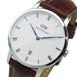 ダニエルウェリントンDanielWellingtonダッパーセントモース/シルバー34mm腕時計1140DWレディース