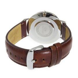 ダニエルウェリントンDanielWellingtonセントモース/シルバー40mmクオーツ腕時計0207DWメンズ