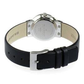 スカーゲンSKAGENクオーツ腕時計358SSLBブラックレディース