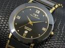 【ポイント5倍】(〜4/30) テクノス TECHNOS セラミック 腕時計 T9120GB メンズ