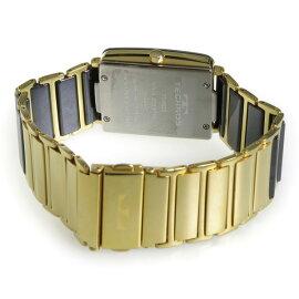 テクノスTECHNOSクオーツ腕時計TSM903GBブラックメンズ