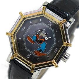 ディズニーウオッチDisneyWatch腕時計1507-GF-Bグーフィーレディース