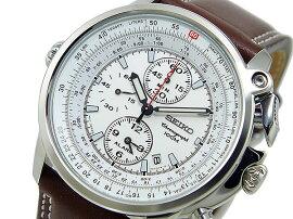 セイコーSEIKOパイロットクロノグラフアラーム腕時計SNAB71P1メンズ