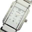 テクノス TECHNOS セラミックコンビ クオーツ 腕時計 T9850TW ホワイト レディース