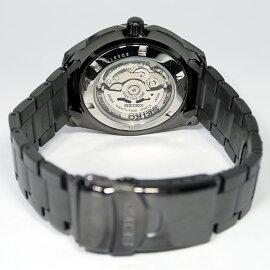 セイコーSEIKOセイコーファイブ5スポーツ自動巻き腕時計SRP363J1ブラックメンズ