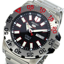 セイコーSEIKO自動巻き腕時計SRP485J1ブラックメンズ