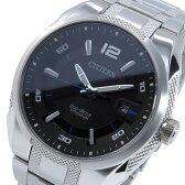 シチズン CITIZEN エコドライブ ソーラー 腕時計 BM6901-55E ブラック メンズ