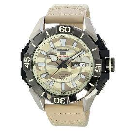 セイコーSEIKOセイコー5スポーツ5SPORTS自動巻き腕時計SRPA01K1迷彩ブラウンメンズ