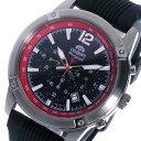 オリエント ORIENT SP クロノグラフ クオーツ 腕時計 STW01006B0 ブラック メンズ