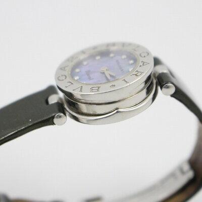 ブルガリB-zero112Pダイヤ/ブルーシェルBZ22S【質屋出品】