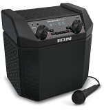 ION Audio Bluetooth 対応 スピーカー 低音 ブースト機能搭載 50時間バッテリー スマホ充電可能 AM/FMラジオ 50W マイク付き Tailgater Plus