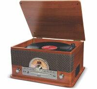IONAUDIOレコード、カセット、CD、ラジオ、USB、Bluetooth他7種再生可能オールインワン・ミュージックプレーヤー