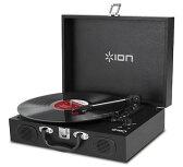 【公式 / 送料無料】ION Audio スピーカー内蔵 スーツケース型レコードプレーヤー Vinyl Transport ブラック