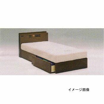 【送料無料】ベッドフュージョンBX(引出付)タイプマットレスセットクロスDXセミダブル「SD」