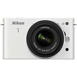 5000円以上で送料無料!Nikon1 J2 標準ズームレンズキット ホワイト ニコン N1J2HLKWH