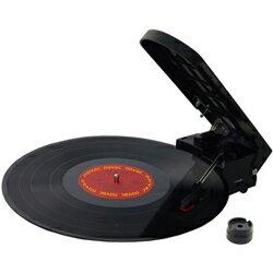 5000円以上で送料無料!超小型ポータブルレコードプレイヤー 兼 USB接続レコードデジタル変換機...
