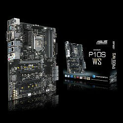 ASUS C236搭載ワークステーションマザーボード ATX LGA1151 P10S WS ASUS TeK P10S/WS:アイオープラザ