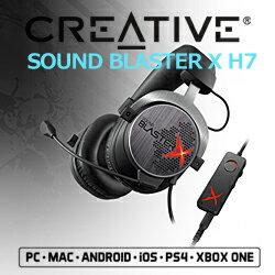 Creative SBX-H7 Sound BlasterX H7 ゲーミングヘッドセット 5000円以上で送料無料!ポイント10倍