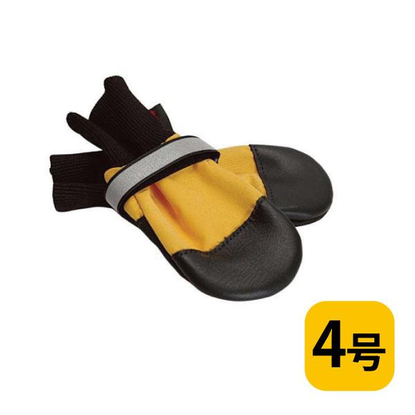 全天候型ブーツ【4号/バラ(1つ)】犬用フットウェア