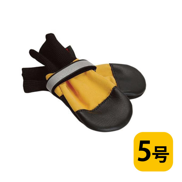 全天候型ブーツ【5号/バラ(1つ)】犬用フットウェア