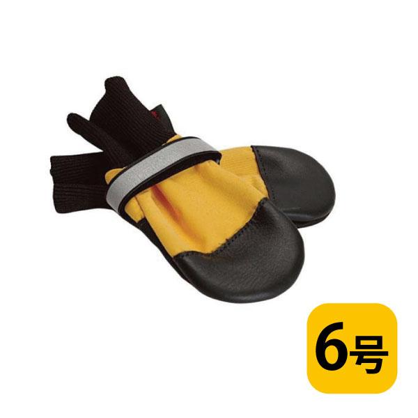 全天候型ブーツ【6号/バラ(1つ)】犬用フットウェア