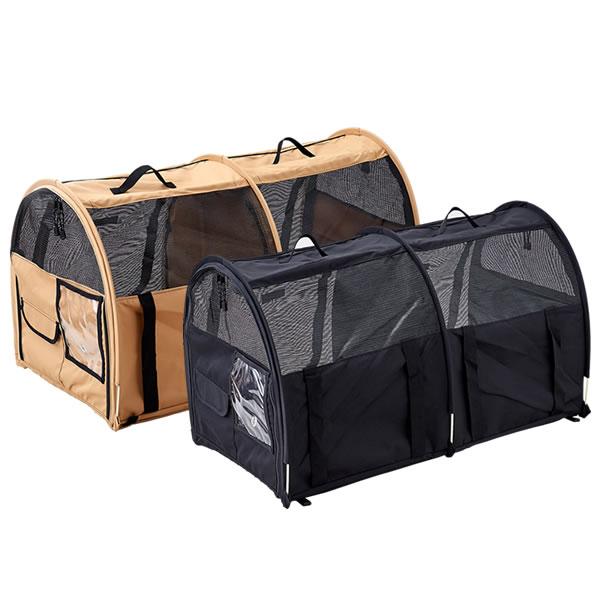 【OFT】Sturdiペットツインカーゴ[おしゃれブランドランキングうさぎキャンプアウトドア折り畳みポータブル犬猫旅行お出かけショルダー]