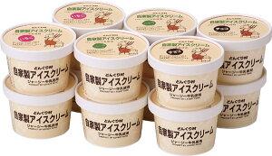 逸品倶楽部 【送料無料】「どんぐり村」ジャージーアイスクリーム アソート