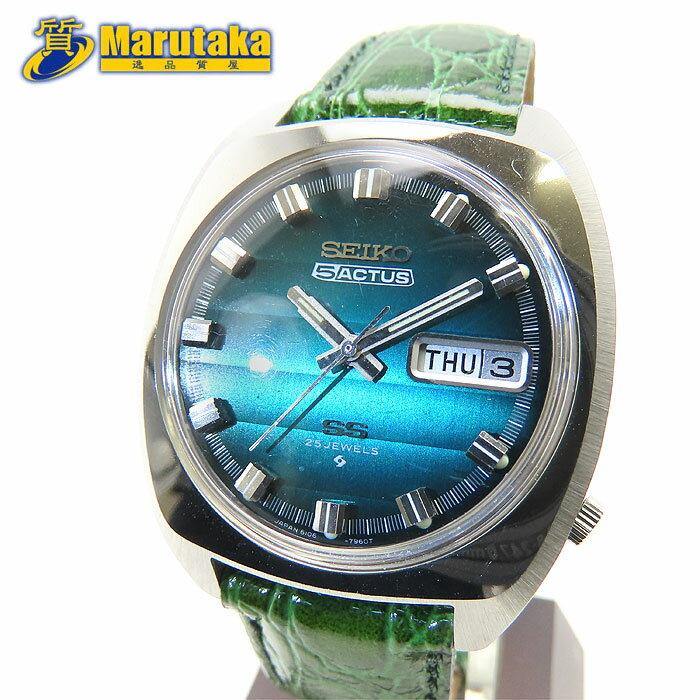 腕時計, メンズ腕時計  SS SEIKO 5 ACTUS 6106-7010 8N Cal.6106C 25JEWELS