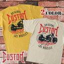 送料無料 バイク メンズ Tシャツ 厚手 Custom 半袖