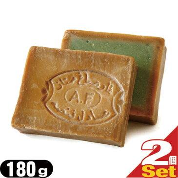 【当日出荷】【送料無料】【無添加石けん】アレッポの石鹸 エキストラ40(Aleppo soap extra40) 180g x 2個セット【smtb-s】