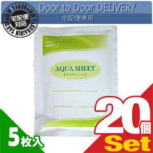 【当日出荷】【貼付け型冷却材】【カナケン】アクアシート(AQUA SHEET)(5枚入) x 20個セット