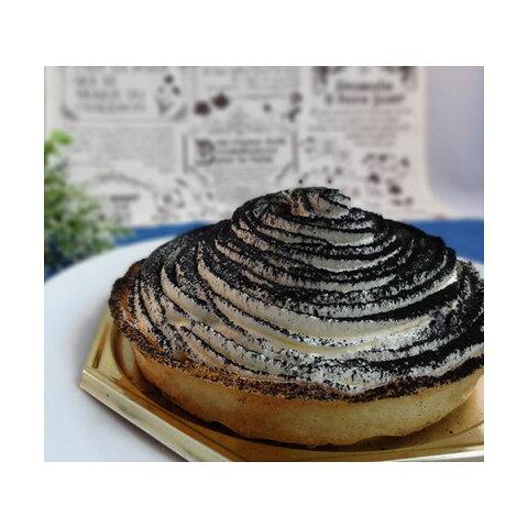 黒いティラミス 2台 (直径約12cm)【代引不可】 送料込!