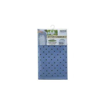 スベリを防ぐ 浴槽マット/お風呂マット 【ブルー】 35×76cm 天然ゴム製 表面:エンボス加工