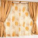 遮光カーテン&レースカーテン 4枚組 4枚セット / 100cm×20...