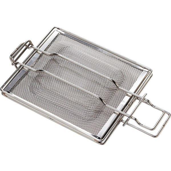 ホットサンドメーカー/キッチン家電 【オーブントースター・グリル用】 IH対応 2段階厚み調節可 日本製