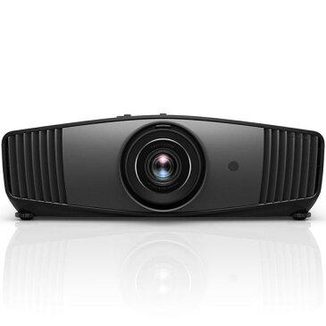 ベンキュー DLPホームエンターテイメントシネマプロジェクター 4K(UHD 3840×2160)XPRテクノロジー HDR10&HLG対応 Cinematic color 1800lm 3D対応 送料込!