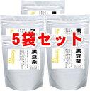 上質の黒豆をベースにはと麦・はぶ茶・黒ごまをブレンド黒豆茶6gx24p 5袋セット【あす楽対応】【HLS_DU】【RCP】