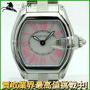 132709【中古】【CARTIER】【カルティエ】ロードスターSM W6206006 SS ピンク ...