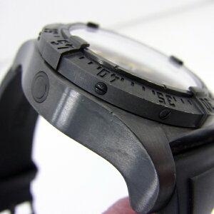 138019【】【BREITLING】【ブライトリング】アベンジャーシーウルフブラックスチール1000本限定M17330ブラック(黒)文字盤自動巻breitling箱保付メンズ時計