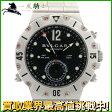 139637【送料無料】【中古】【BVLGARI】【ブルガリ】ディアゴノ スクーバ GMT SD38SGMT SS ブラック(黒)文字盤 箱保付 自動巻きbvlgari メンズ時計