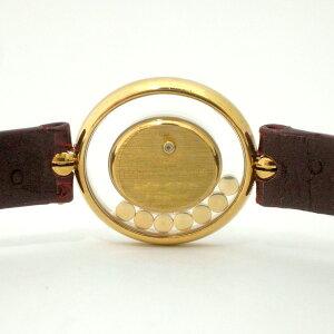 175199【中古】【CHOPARD】【ショパール】ハッピーダイヤモンドオーバル20/4292
