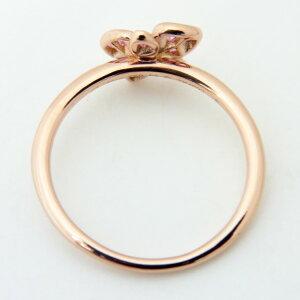 182606【送料無料】【】【CARTIER】【カルティエ】カレスドルキデパルリングK18PG×ピンクサファイヤ×1Pダイヤモンド♯5313号ピンクゴールド750蘭指輪アクセサリーブランドジュエリー
