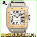 189806【中古】【Cartier】【カルティエ】サントス100 LM W200728G シルバー ...