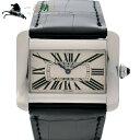 241744【中古】【Cartier】【カルティエ】タンク ディヴァン LM W6300755