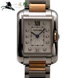 213058【中古】【Cartier】【カルティエ】タンクアングレース SM WT100024