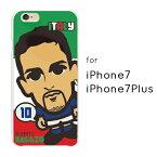 iPhone8 ケース iPhone8Plus iPhone7 iPhone7Plus サッカー選手 イタリア ハードケース TPUケース 薄型 アイフォン iphone8対応 iphone8plus対応 【オリジナルデザイン】