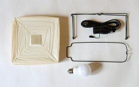 イサムノグチAKARIあかりアカリ1X(無地)LED電球(E26-40W形相当)付属IsamuNoguchiテーブルランプ和紙照明【楽ギフ_包装】【あす楽】【送料無料】
