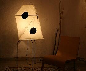 イサムノグチAKARIあかりアカリUF3-Q(ドット)LED電球(40W形相当)付属IsamuNoguchiフロアランプ和紙照明【送料無料】